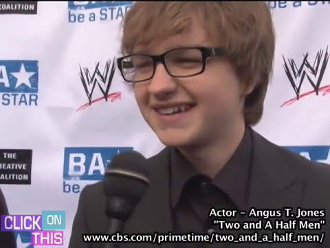 Angus T Jones Interview - 2011 - With or Without Charlie