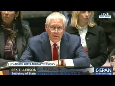 U.S. Points To Russia And China At U.N. Security Council Meeting on North Korea (DEC 15, 2017)