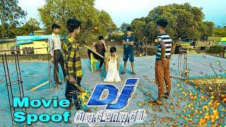Dj action spoof allu arjun fight || the Rex srs team.