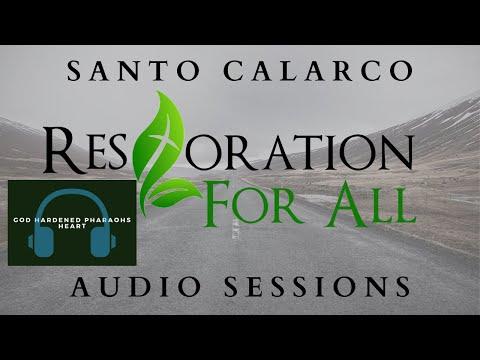Santo Calarco - God Hardened Pharaohs Heart - Its a figure of speech. Paul Says so!