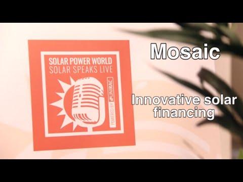 Innovative solar financing