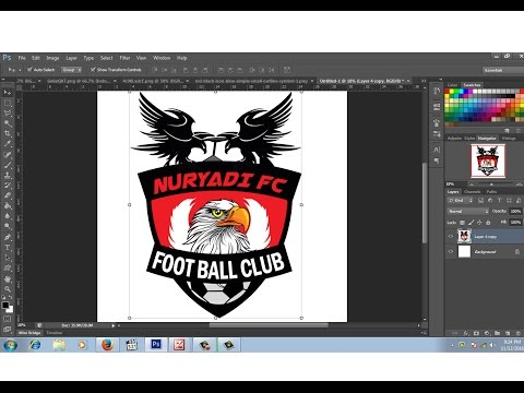 Cara Membuat Logo Club Bola atau Logo Esport PixelLab Design HOW TO MAKE FOOTBALL CLUB LOGO.