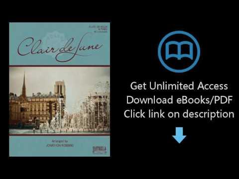 Download Debussy's Clair de Lune for Flute or Violin & Piano [P.D.F]