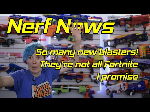 This Week In Nerf EP 33 - Fortnite Galore, Rival Leaks, Always Wear Your Eye Pro