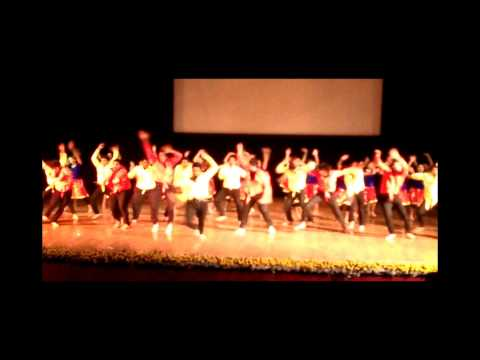 AUS Indian Cultural Club - Global Day 2014 - Indoor Stage Performance
