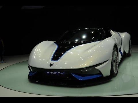 2016 BAIC Arcfox - 7 Electric Supercar (at Beijing Auto Show 2016)