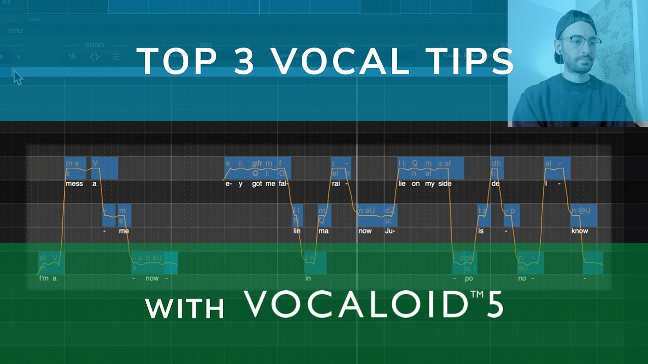 VOCALOID5   TOP 3 VOCAL TIPS