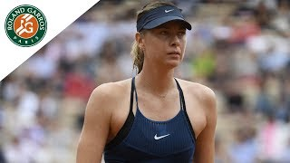 Maria Sharapova vs Richel Hogenkamp - Round 1 Highlights I Roland-Garros 2018