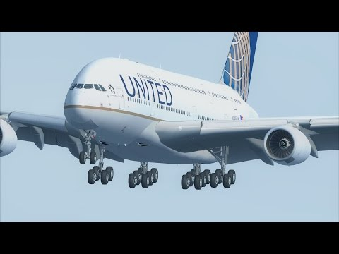 FSX A380 San Francisco to Honolulu [AWESOME REALISM+GRAPHICS]