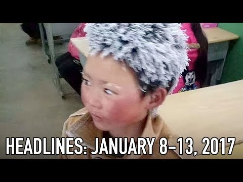"China's ""Ice Boy"" Goes Viral"