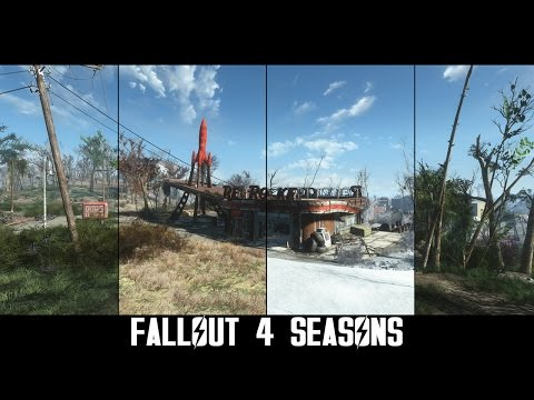 Fallout 4 mod adds in-game seasons
