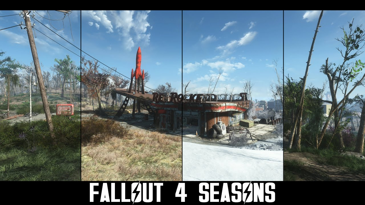 Fallout 4 Seasons Mod Brings Some Much Needed Color to the