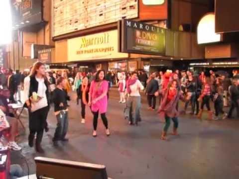 Bollywood Flashmob Proposal Times Square Youtube
