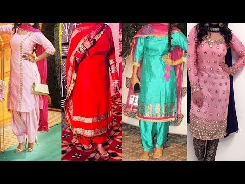 Punjabi Suit || Boutique Suit Design 2019 || Punjabi Dresses