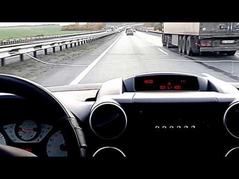 Peugeot Partner Tepee, Пежо партнер типи дизель, расход топлива