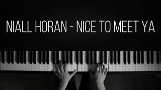Nice To Meet Ya - Niall Horan (Piano Cover by LAKEWOOD)