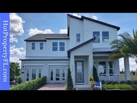 New Model Home Tour | Dr Phillips / Orlando, FL | Gated Community | Sand Lake Sound, Meritage Homes