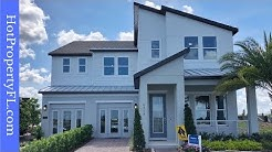 New Model Home Tour | Dr Phillips / Orlando, FL | Gated Community | 5 Br, 4.5 baths, 3,871 sq ft.