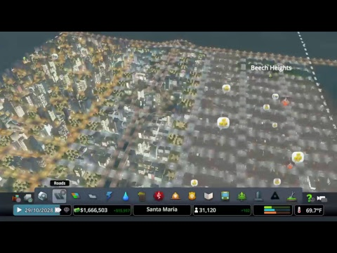 Santa Maria - Cities Skylines - Post Update Part 1
