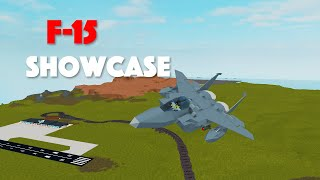 Roblox | Plane Crazy | F-15E Showcase