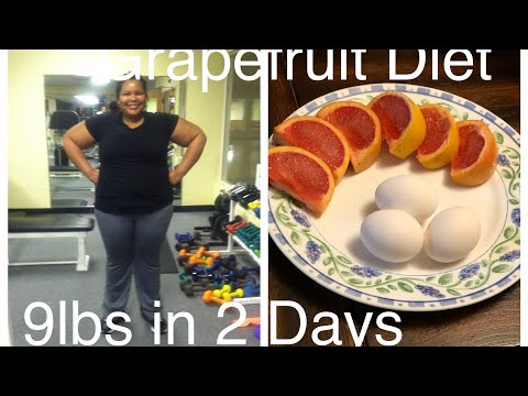 Grapefruit Diet...9lbs down in Only 2 Days