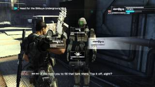 Binary Domain Walkthrough - Chapter 2 Part 2 - PC Gameplay 1080p Full HD
