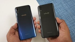 Vivo v11 pro vs vivo x21 speed test comparison...both phone feature...