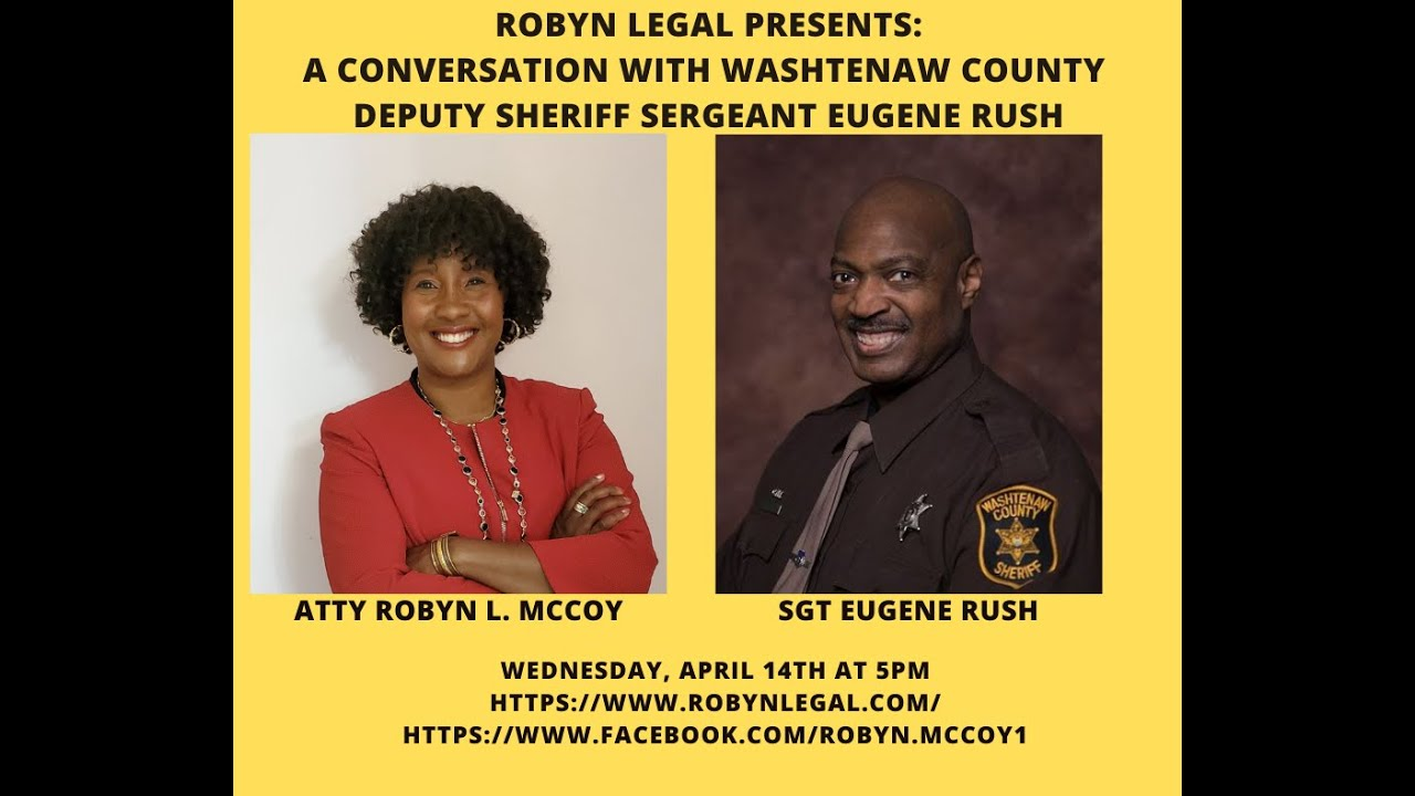 Interview with Washtenaw County Deputy Sgt Eugene Rush!