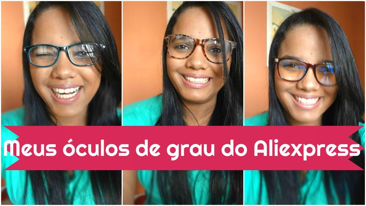 efbccc005ff59 Armação de Óculos barata - Aliexpress - YouTube