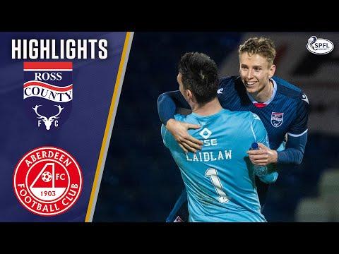 Ross County Aberdeen Goals And Highlights