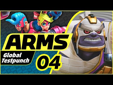 ARMS - Global Test Punch - Part 4 | Master Mummy Gameplay!