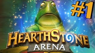 Hearthstone: Shaman Arena Run - Part 1 - Deck Drafting and Matches 1+2!