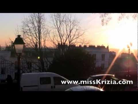 Montmartre Sunset Montmartre Paris