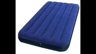 How To Inflate An Intex Air Mattress Bed Without a Pump Quick And Easy!