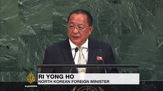"UN: North Korea responds to Trump speech, ""President evil"""