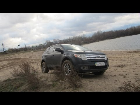Ford Edge на песке типа off road