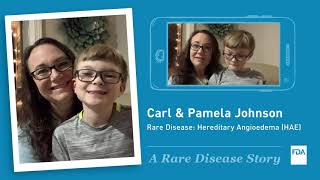 Carl & Pamela Johnson's Rare Disease Story