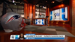 New England Patriots RB LeGarrette Blount on His Future With patriots, Tom Brady & More - 2/9/17