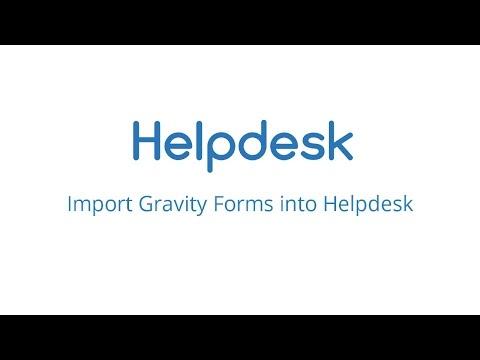 rtBiz Helpdesk - Import Gravity Forms into Helpdesk