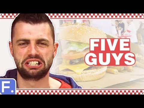 Irish People Taste Test Five Guys