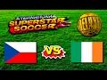 Czech Rep vs Ireland - International Superstar Soccer Deluxe - Sega Genesis / Mega Drive HD