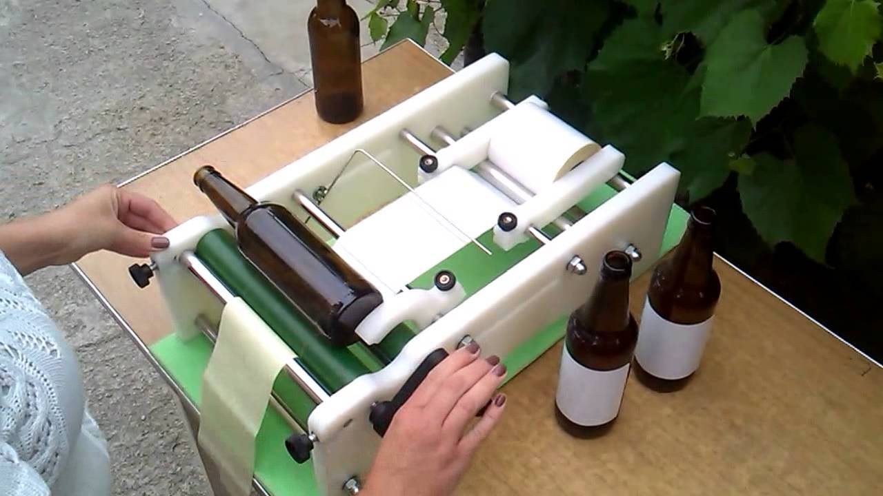 This is a picture of Monster Wine Bottle Label Remover Machine