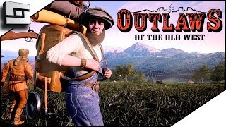 I'm A Cowbow In The Old West! Outlaws Of The Old West Game Part 1
