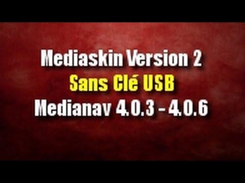 & installer mediaskin v2 sur medianav 4.0.3