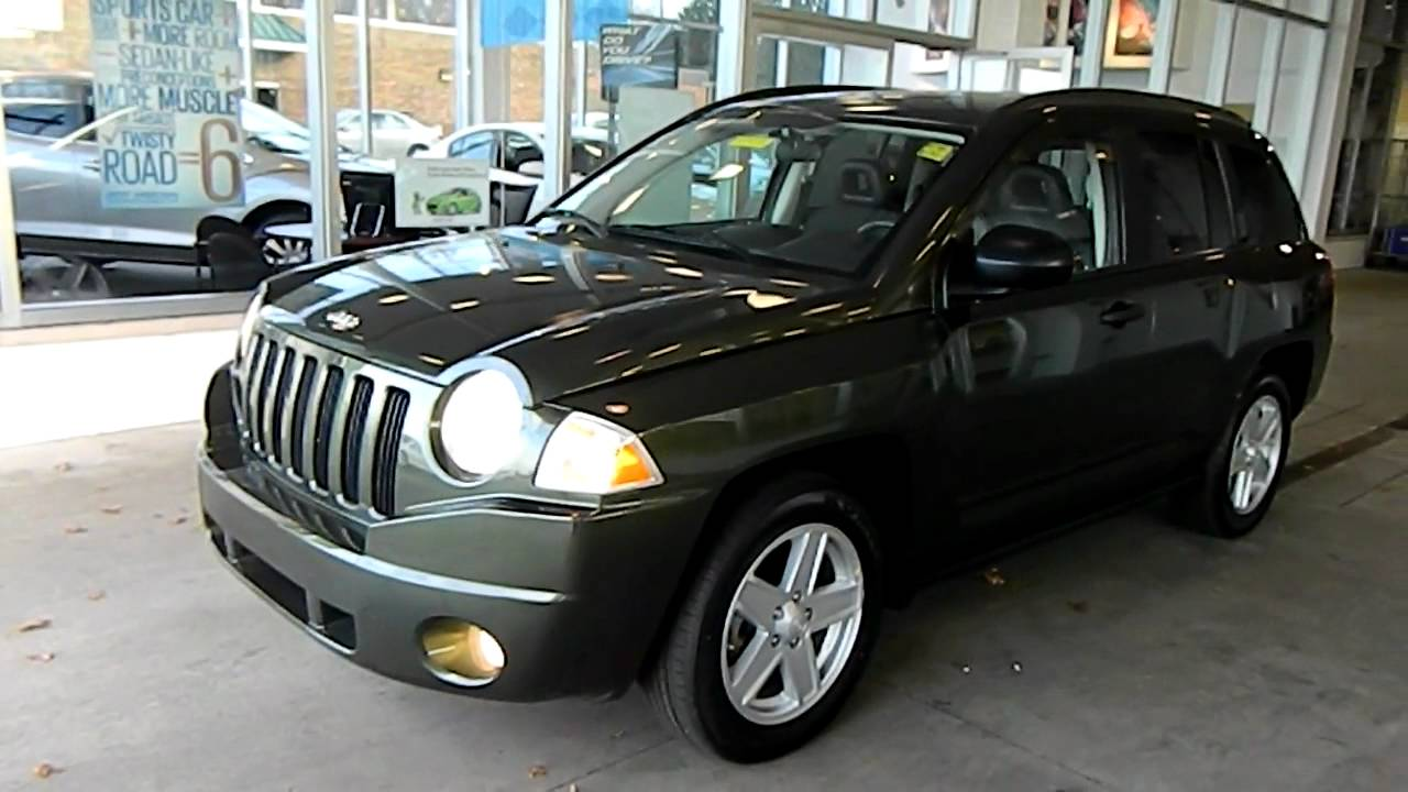 Jeep Green Metallic 2009 Jeep Compass Sport 4x4 @ Eastside Mazda VW in Cleveland, Ohio - YouTube