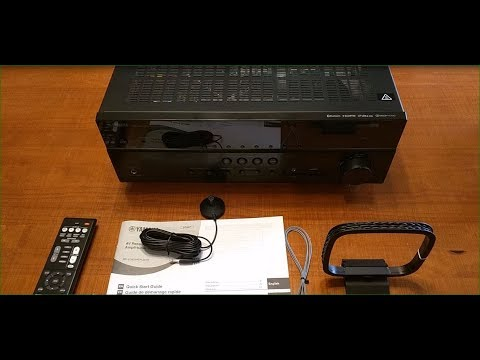 REVIEW Yamaha RX-V385 5.1-Channel 4K Ultra HD AV Receiver With Bluetooth