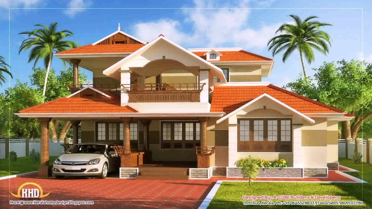 Two floor house design in india in small youtube 2 floor house