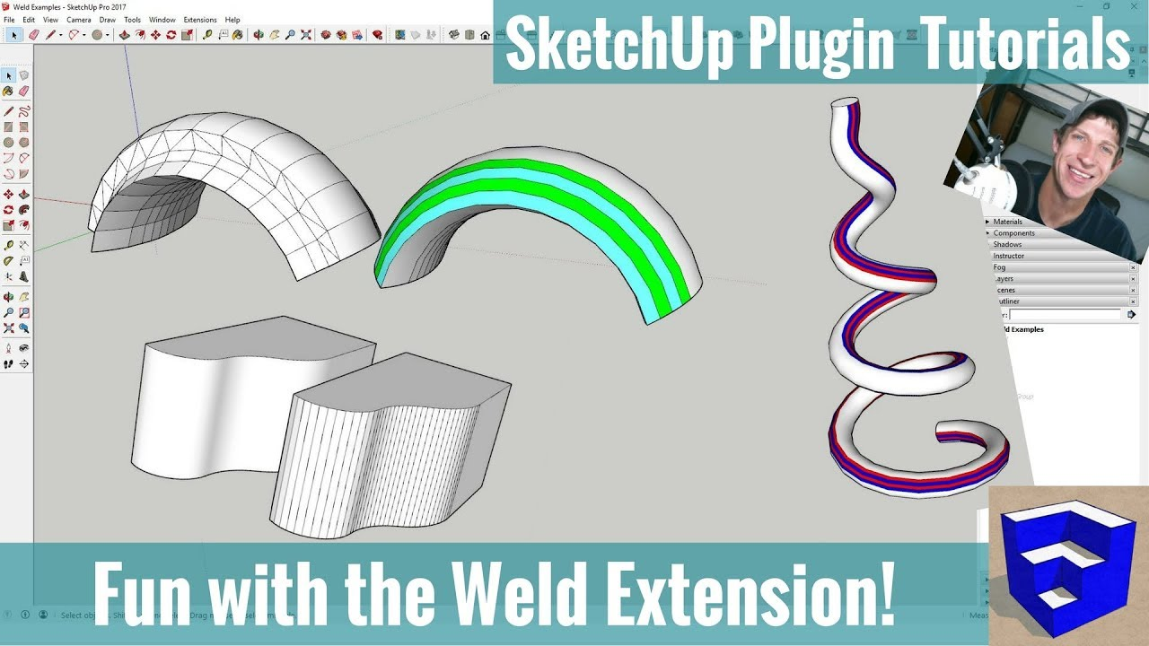 Modeling with the Weld Extension in SketchUp - SketchUp Extension Tutorials
