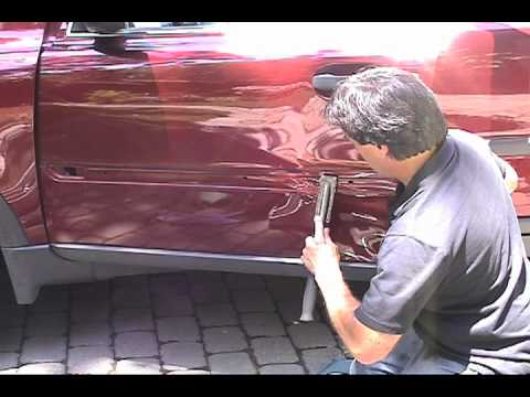 extreme paintless dent removal training volvo xc90 videobowbow. Black Bedroom Furniture Sets. Home Design Ideas