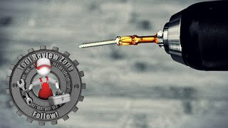 How To Magnetize Aฑy Screw Bit (Fast and Easy)